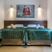 Limpieza en habitaciones de hotel