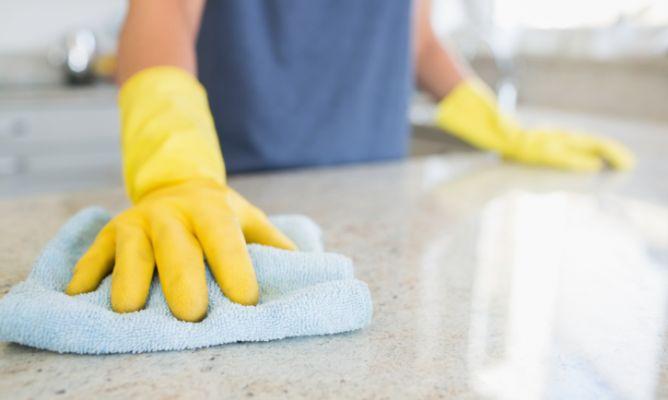 Cómo limpiar las bayetas