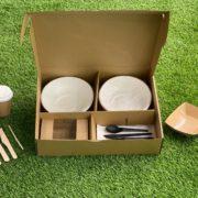 Cajas y envases de comida para llevar, compostables y ecológicas